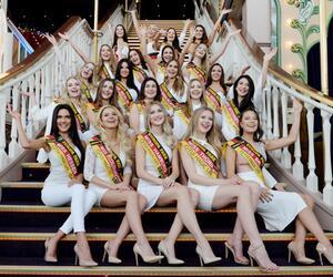 """Die Kandidatinnen zur Wahl der """"Miss Germany"""""""