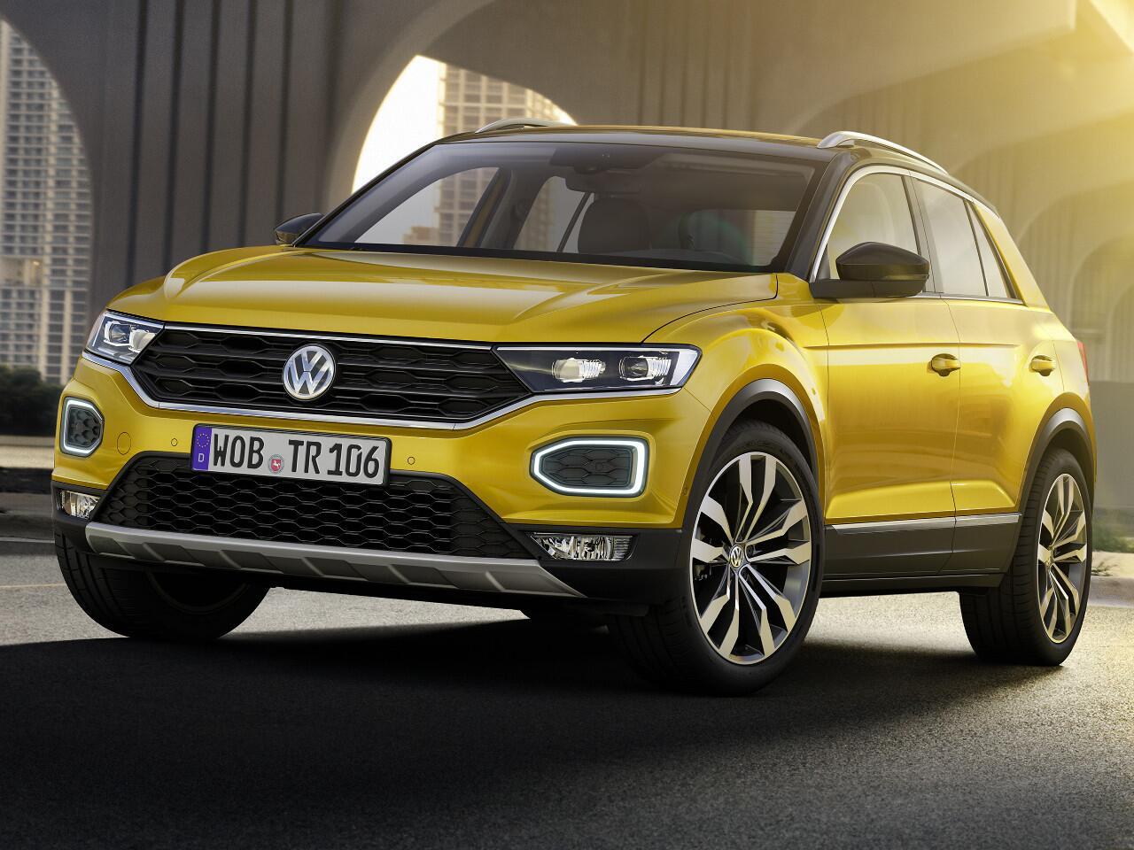 Bild zu Platz 5: VW T-ROC