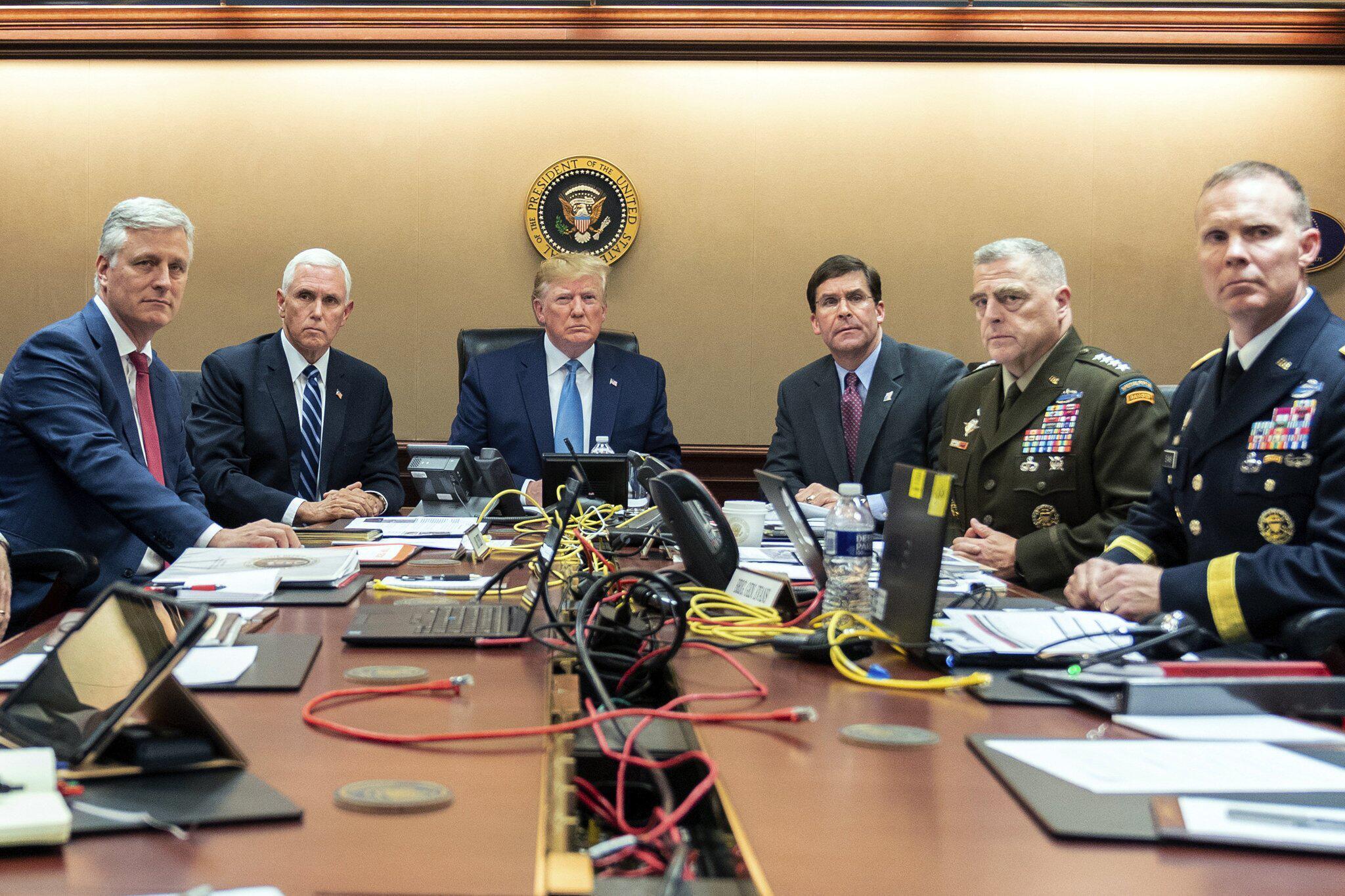 Bild zu Trump verkündet Tod von IS-Anführer Al-Bagdadi