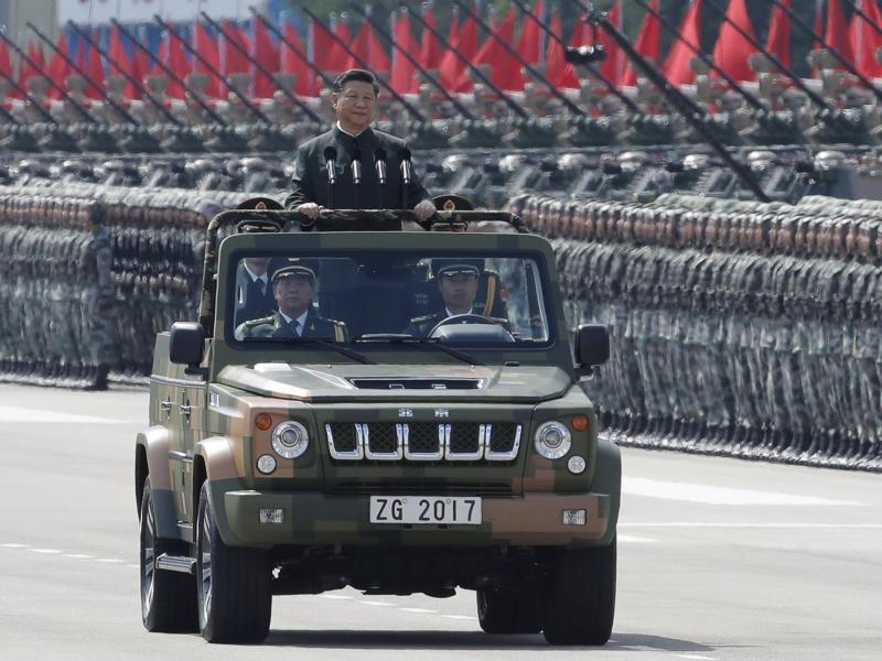 Bild zu Xi Jinping in Hong Kong