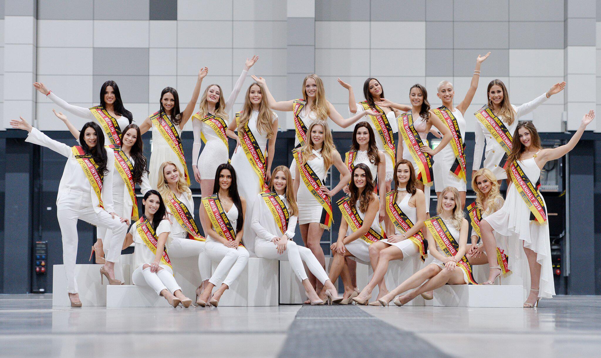 """Bild zu Die Kandidatinnen zur Wahl der """"Miss Germany"""""""