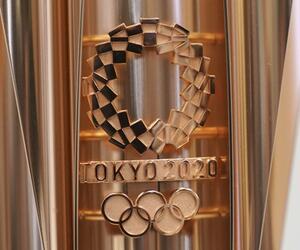 Vor Olympia 2020 in Tokio - Enthüllung Olympische Fackel