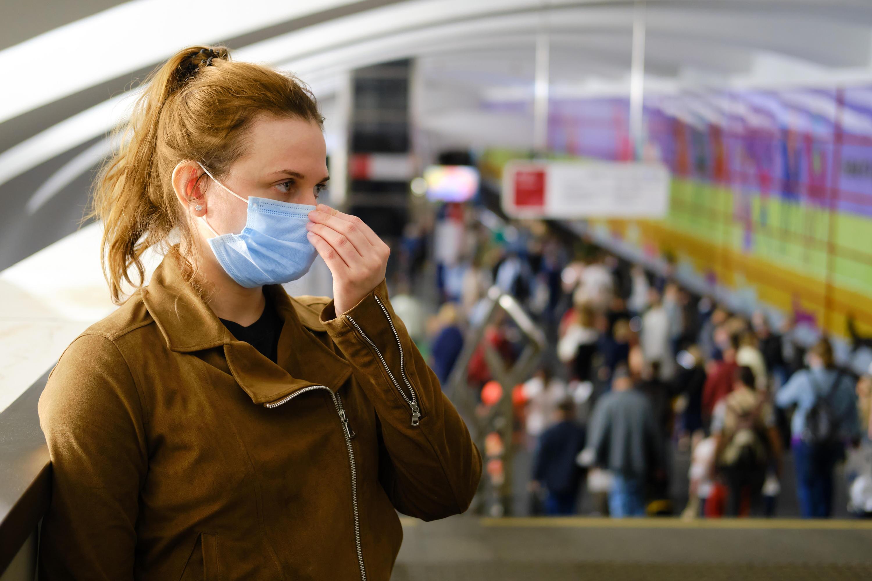 Bild zu maske, maskenpflicht, mund-nasen-schutz, corona, virus, pandemie, ansteckung