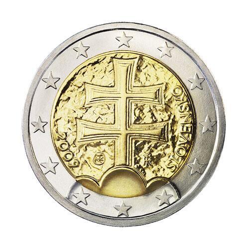 Bild zu 2-Euro-Münze aus der Slowakei