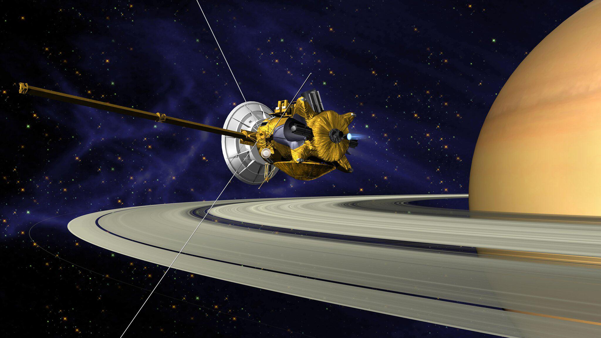 Bild zu Finale der Cassini-Mission