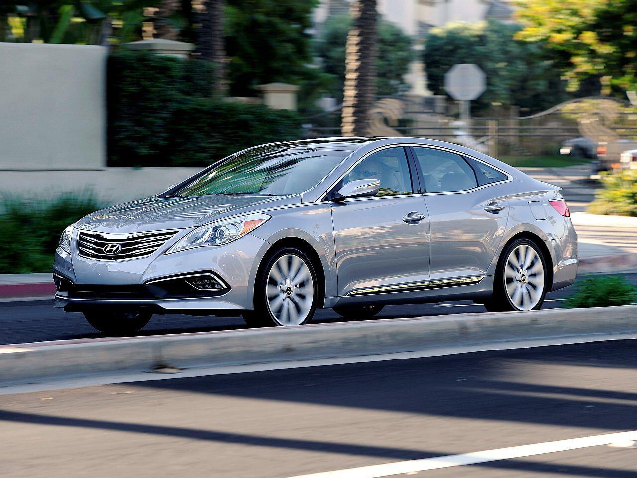 Bild zu Platz 5: Hyundai Azera/Grandeur