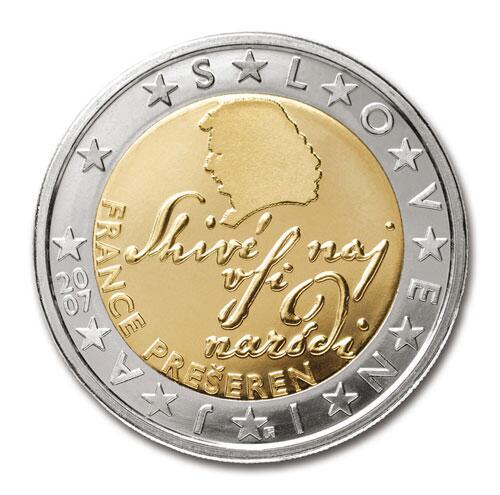 Bild zu 2-Euro-Münze aus Slowenien