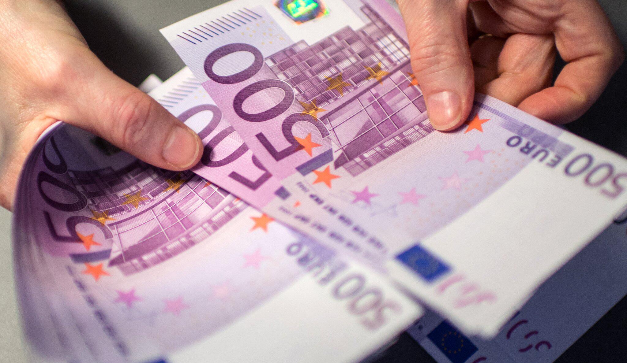 Bild zu 500 Euro-Scheine