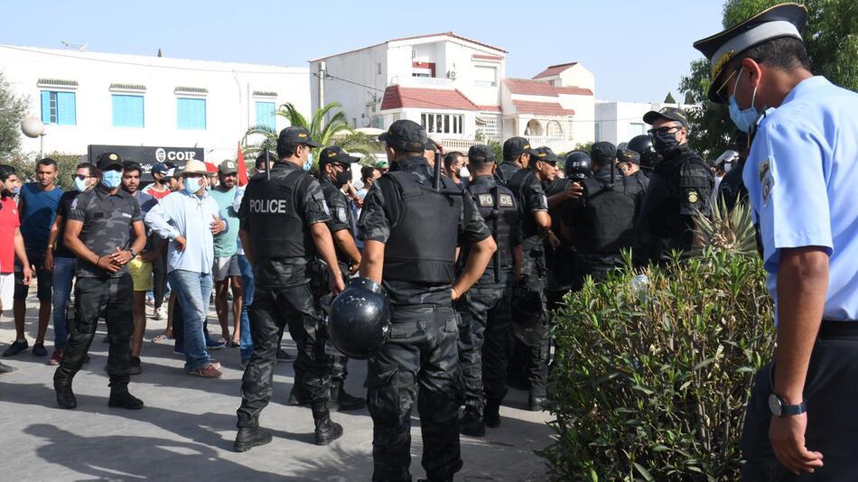 Lage in Tunesien angespannt
