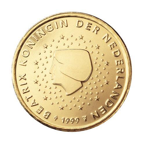 Bild zu 50-Cent-Münze aus den Niederlanden