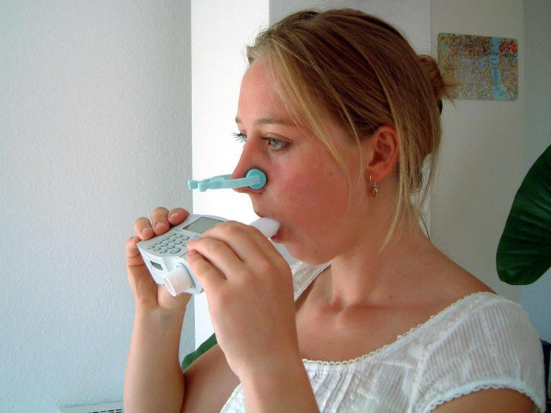 Bild zu Spirometer
