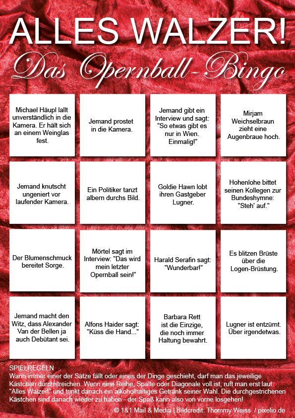 Bild zu Bullshit-Bingo Opernball