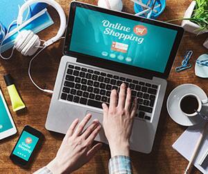 Bild zu Online Shopping