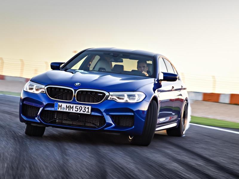 Bild zu Neuer BMW M5