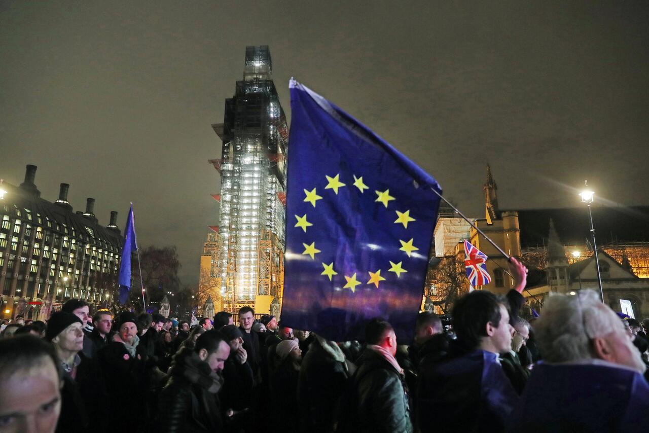 Bild zu Brexit - Proteste