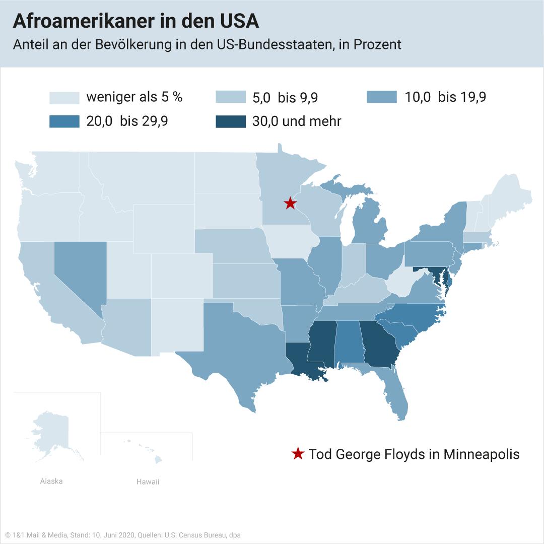 Bild zu Afroamerikaner in den USA