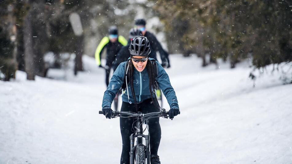 Fahrrad, Kälte, Winter, Ausrüstung