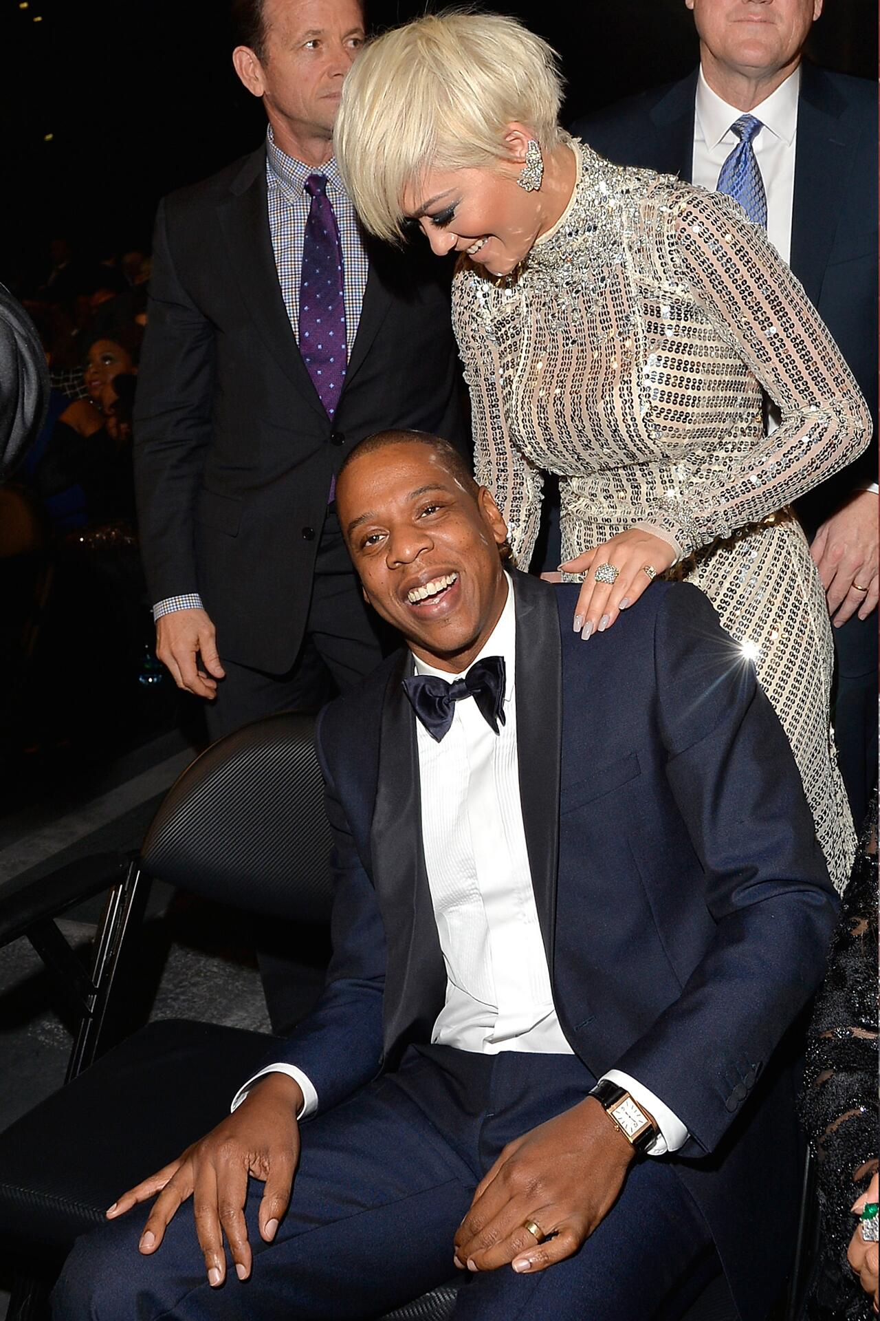 Bild zu Rita Ora, Jay Z, Grammys