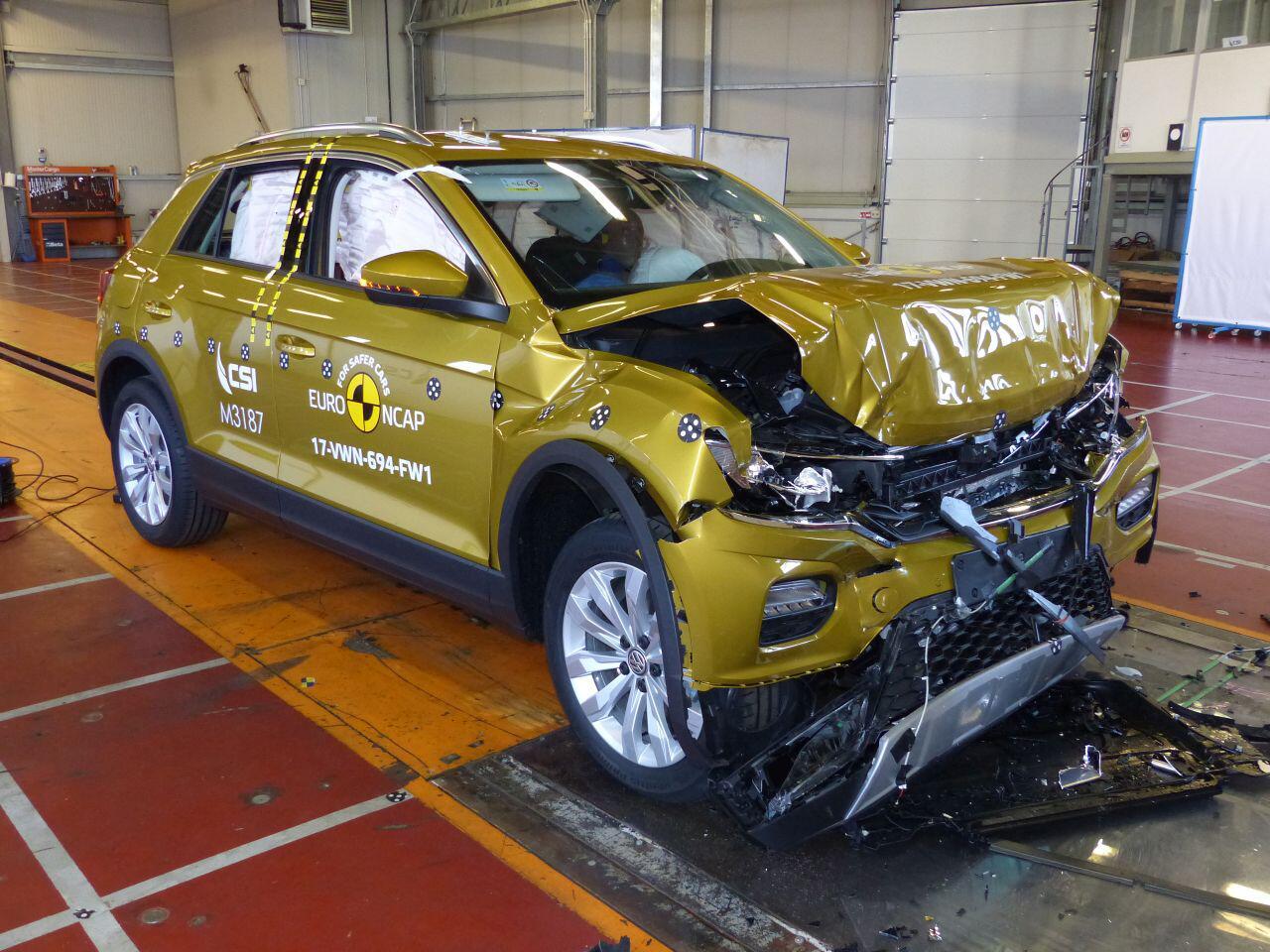 """Bild zu Die """"Klassenbesten"""" im Euro NCAP-Crashtest: Das waren die sichersten Autos 2017"""