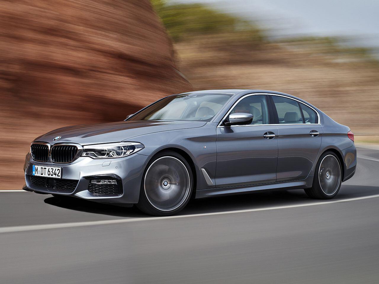 Bild zu Platz 2: BMW 5er