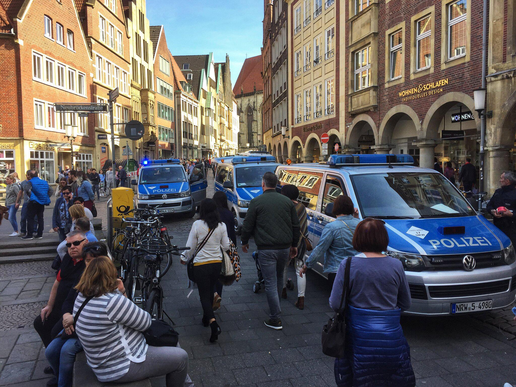 Bild zu Incident in Muenster