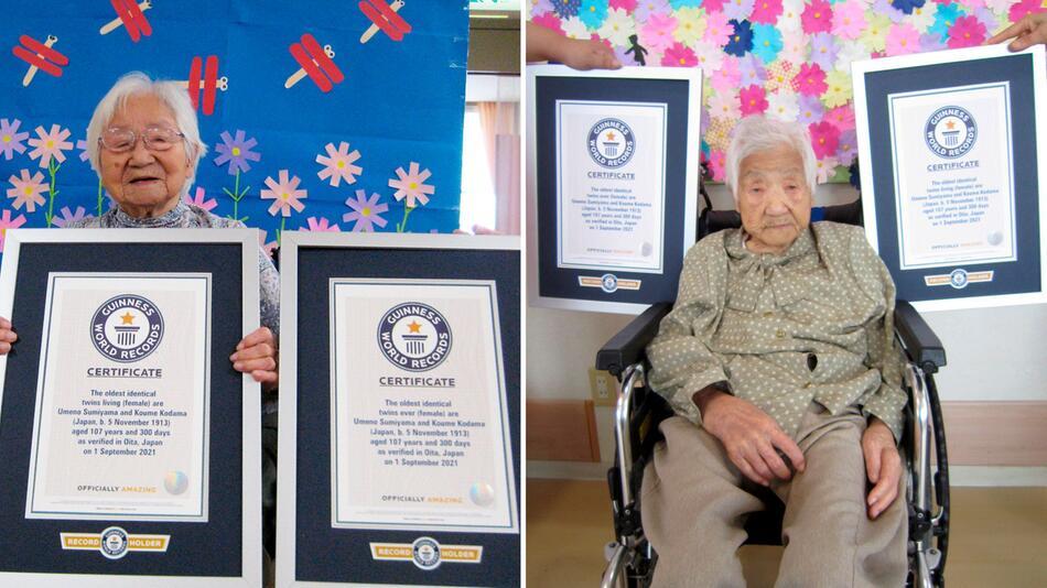 Älteste Zwillinge Japans