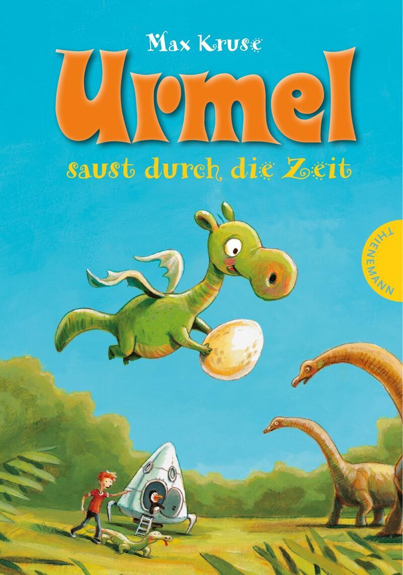 """Bild zu Buchcover """"Urmel saust durch die Zeit"""""""