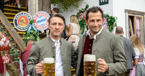 Oktoberfest - FC Bayern at the Wiesn