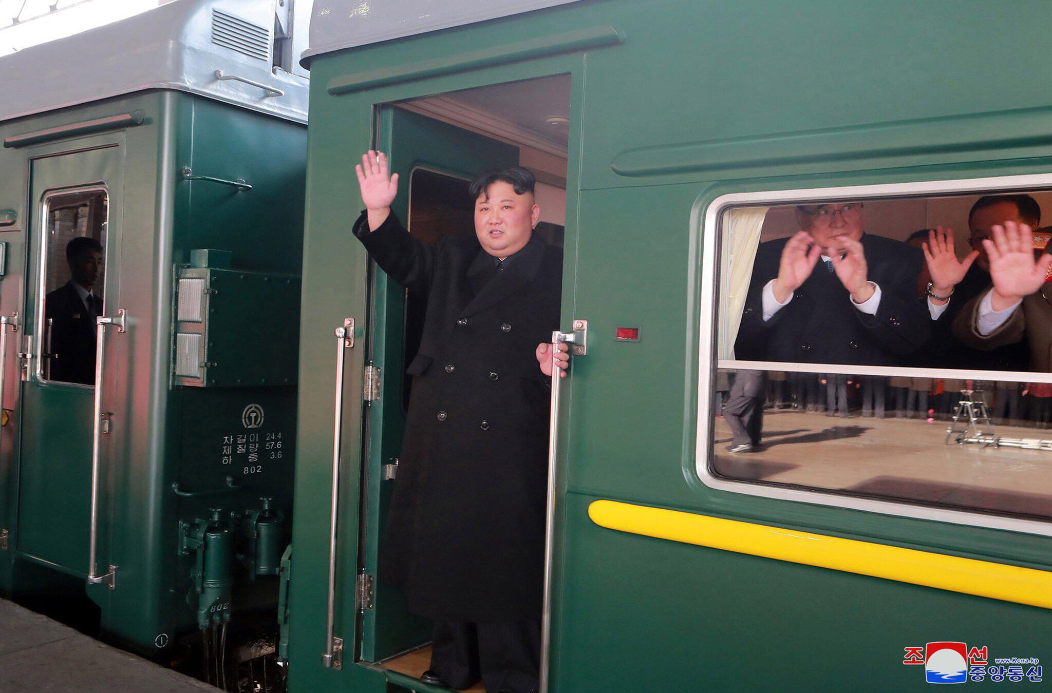 Bild zu Kim Jong Un reist mit Zug zum Gipfel mit Trump