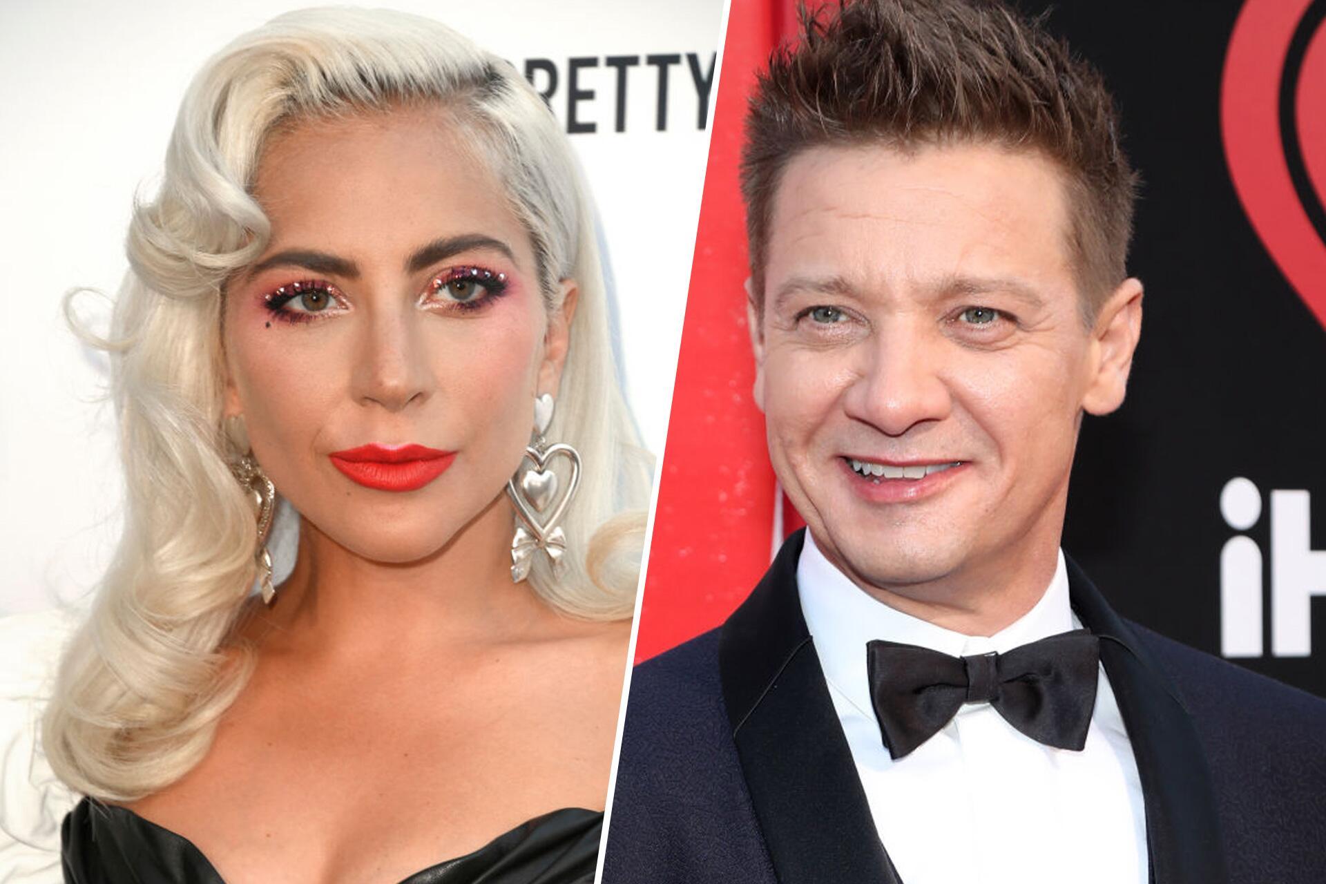 Bild zu Lady Gaga und Jeremy Renner