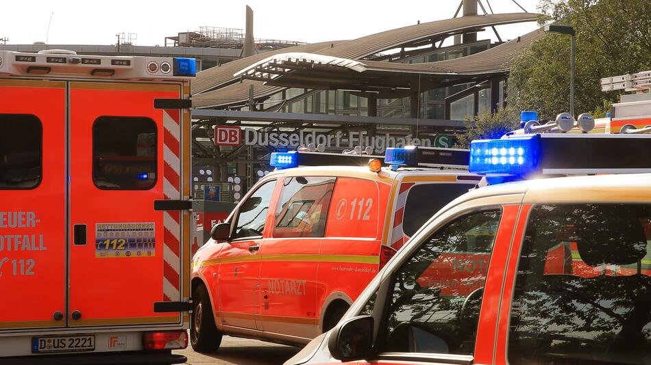 Rescue operation after failure of the air conditioning system in the train