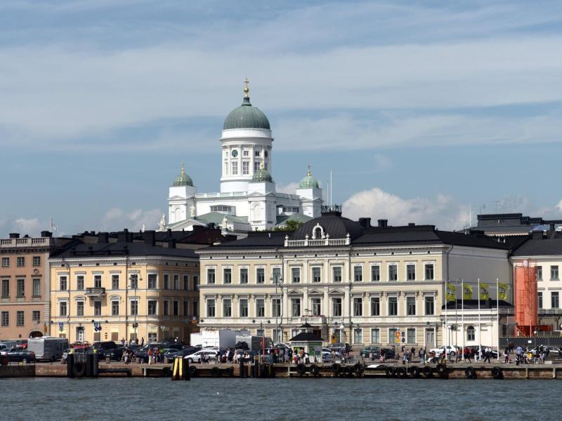 Bild zu Hafen in Helsinki