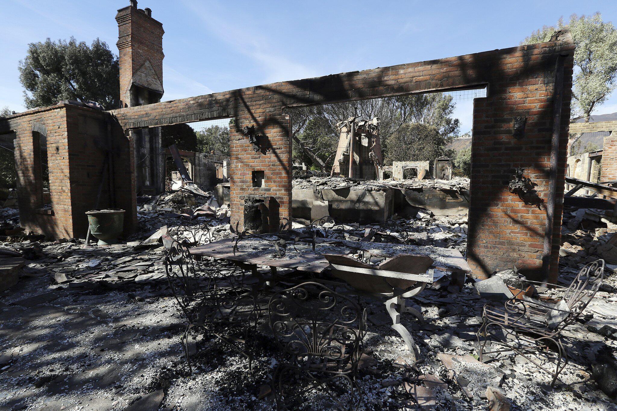Bild zu Thomas Gottschalk, Feuer, Villa, Kalifornien