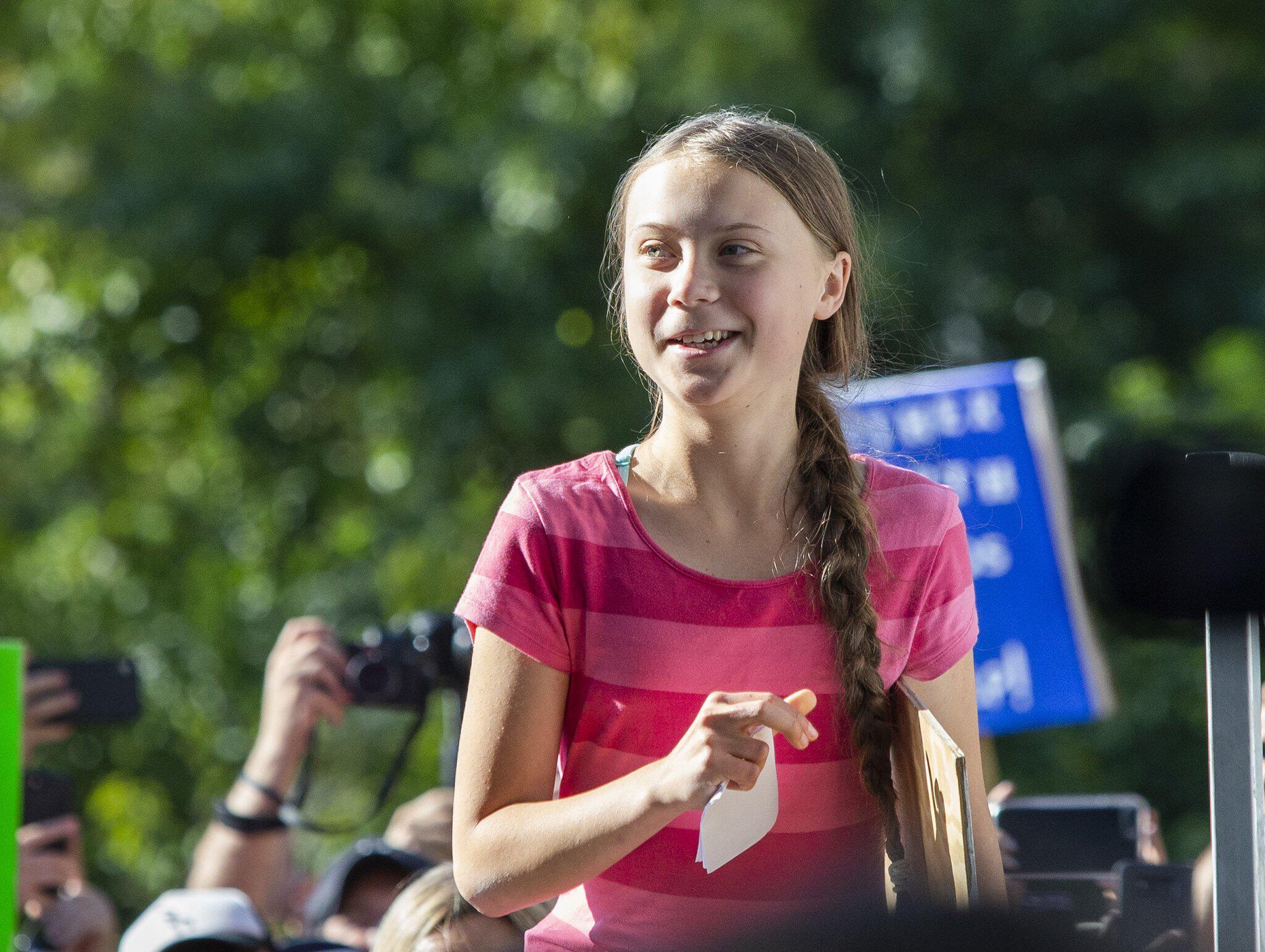Bild zu Klimastreik, New York, Fridays for Future, Greta Thunberg