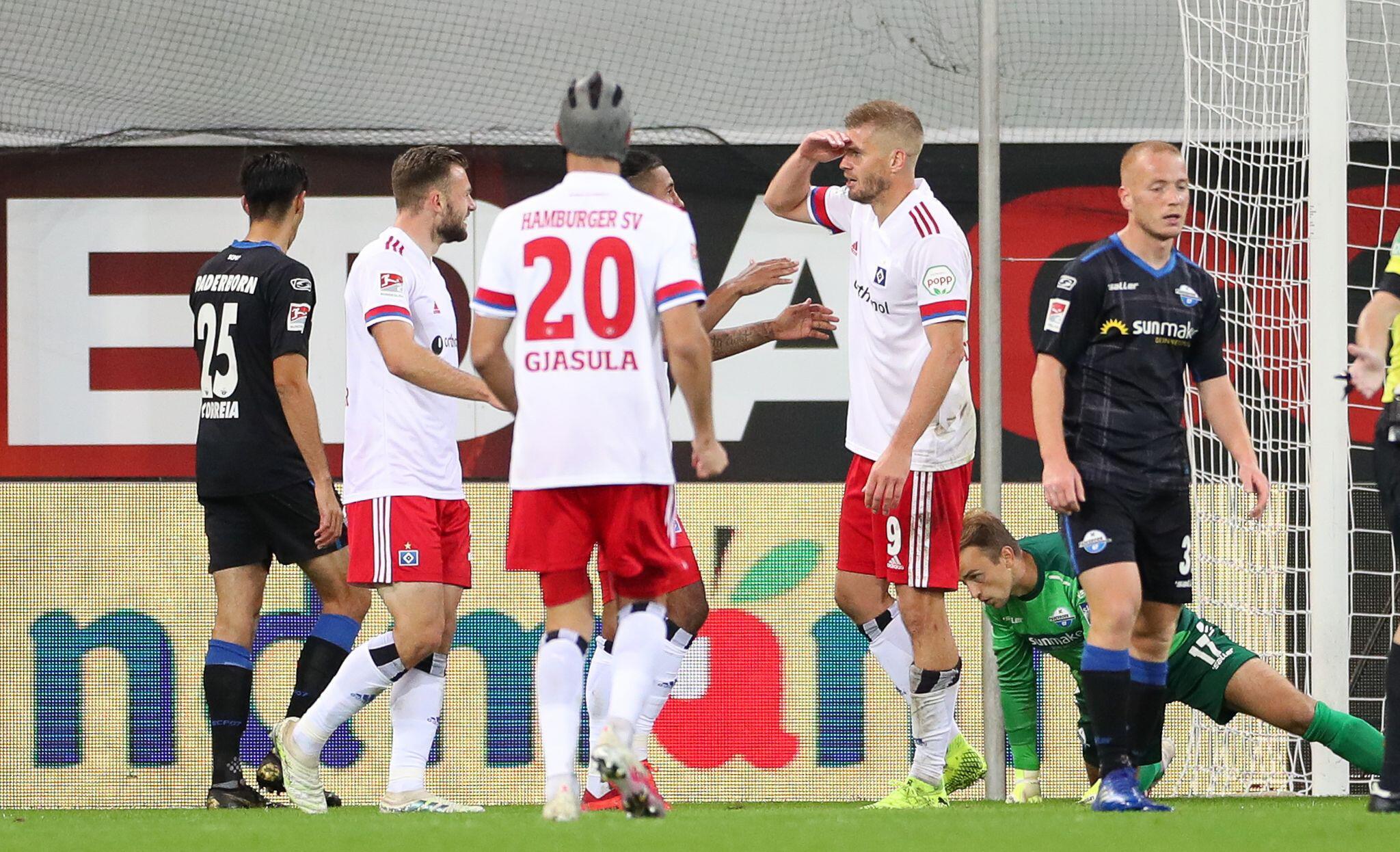 Bild zu SC Paderborn 07 - Hamburger SV