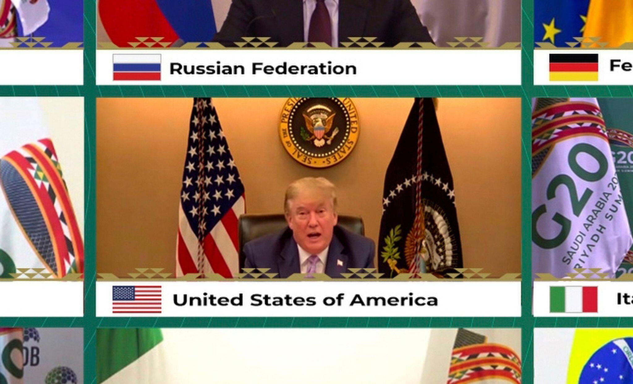 Bild zu Virtueller G20-Gipfel unter Vorsitz Saudi-Arabiens