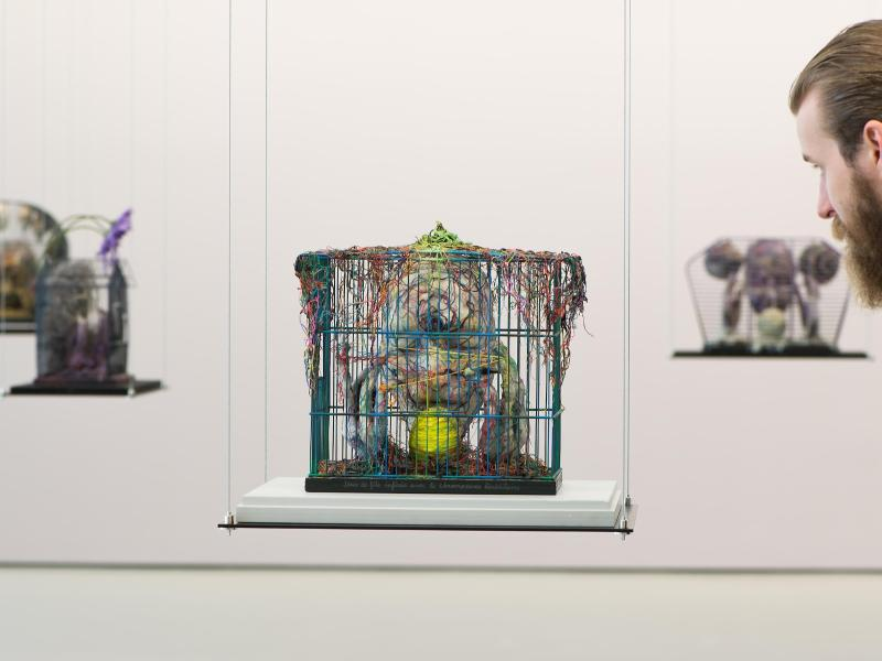 Bild zu Ausstellung von Tetsumi Kudo