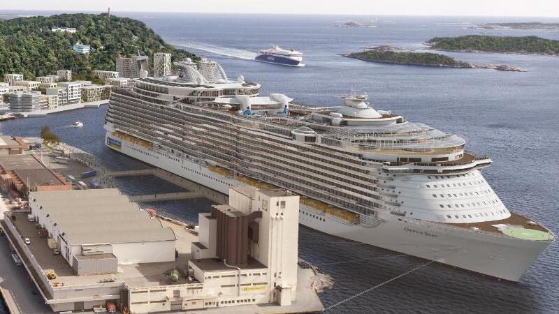 Hafen von Kristiansand