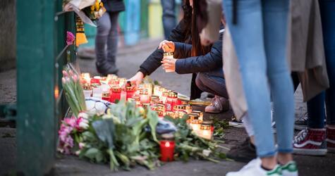 Trauer an der Käthe-Kollwitz-Gesamtschule in Lünen