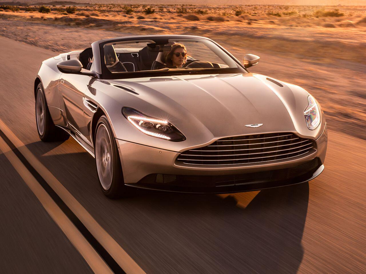Bild zu Aston Martin DB11 Volante: Edler Gleiter für den offenen Fahrspaß
