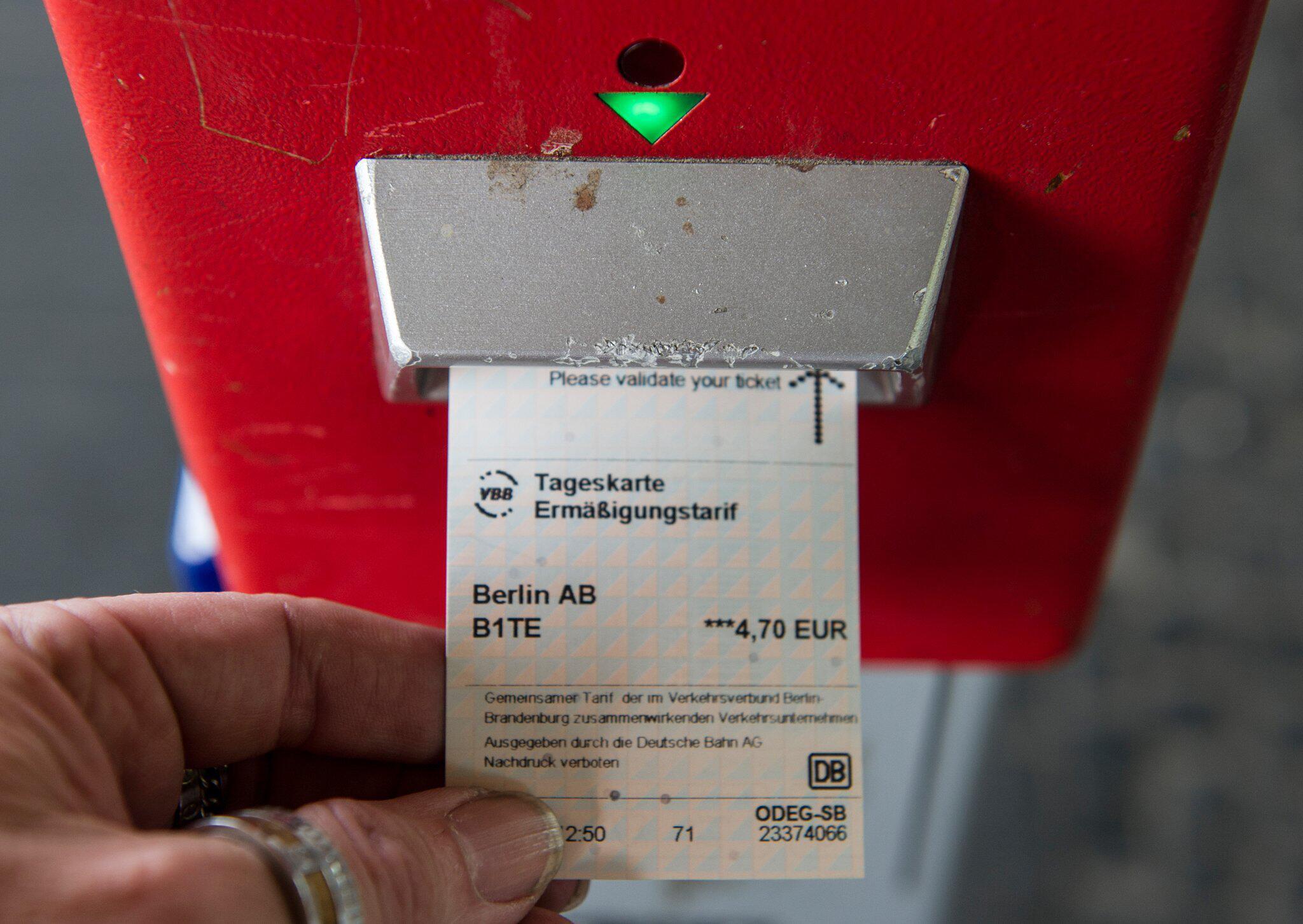 Bild zu Fahrschein für Nahverkehr
