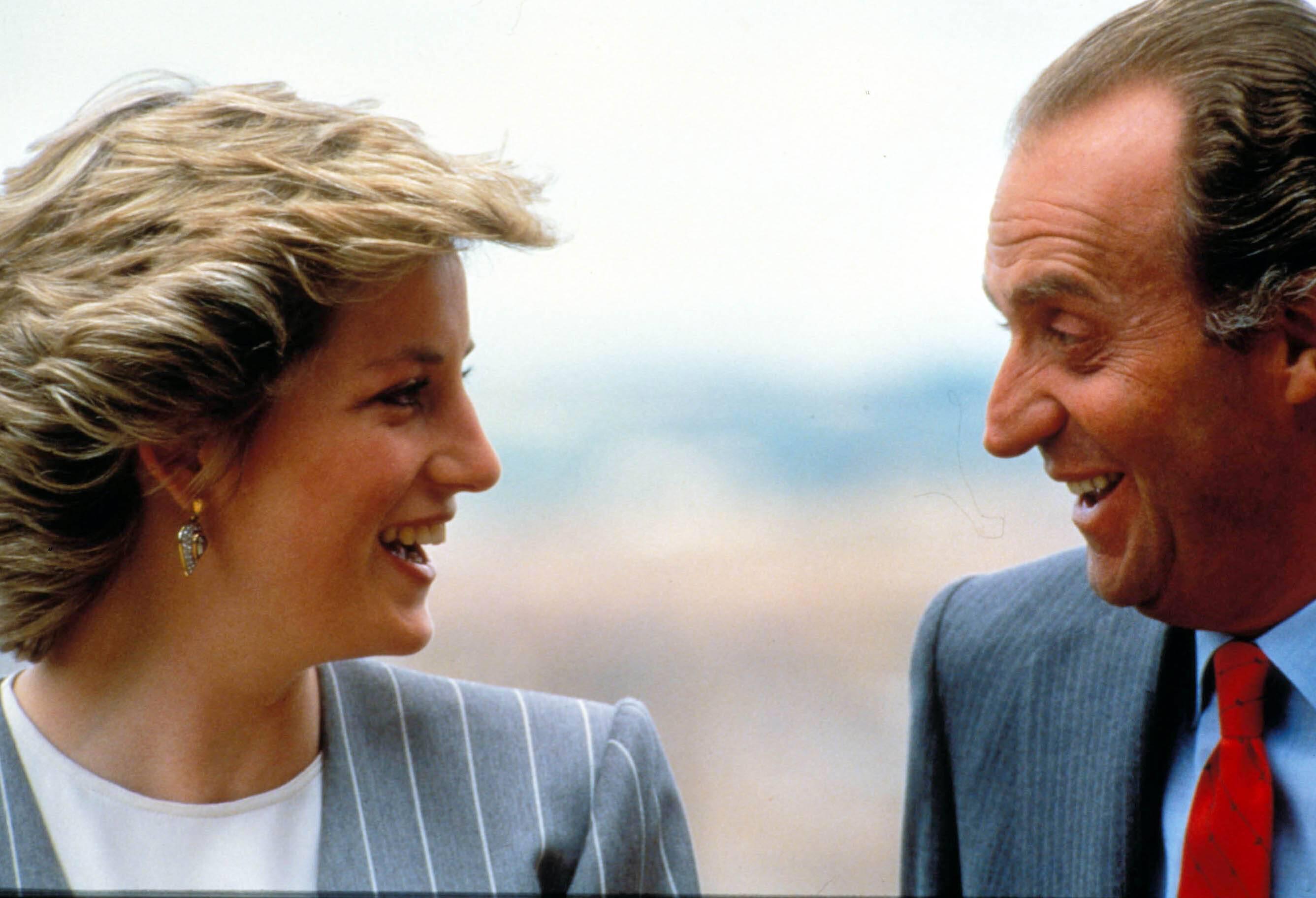 Bild zu Juan Carlos, Prinzessin Diana