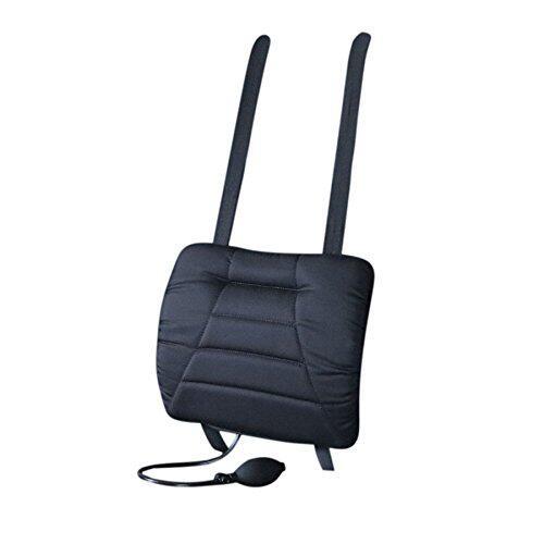 Bild zu Büro, Wirbelsäule, Rückenschmerzen, Keilkissen, Rückenpolster, ergonomischer Bürostuhl