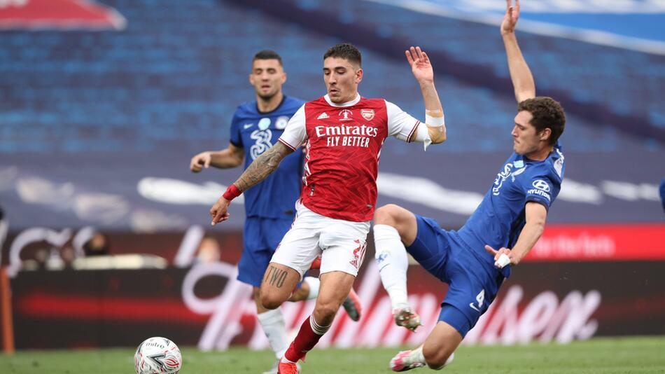 Das FA-Cup-Finale Anfang August gewann der FC Arsenal gegen den FC Chelsea