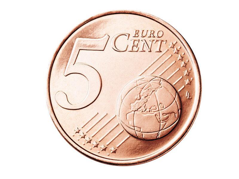 Bild zu Die Vorderseite der 5-Cent-Münze