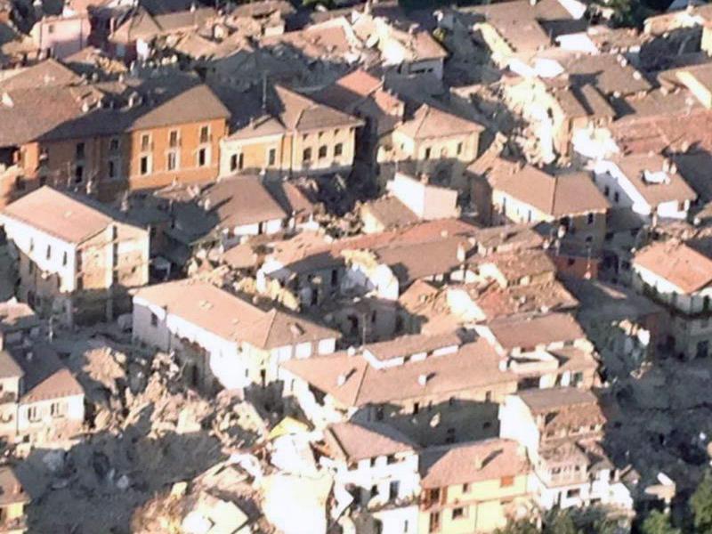 Bild zu Nach dem Erdbeben in Italien