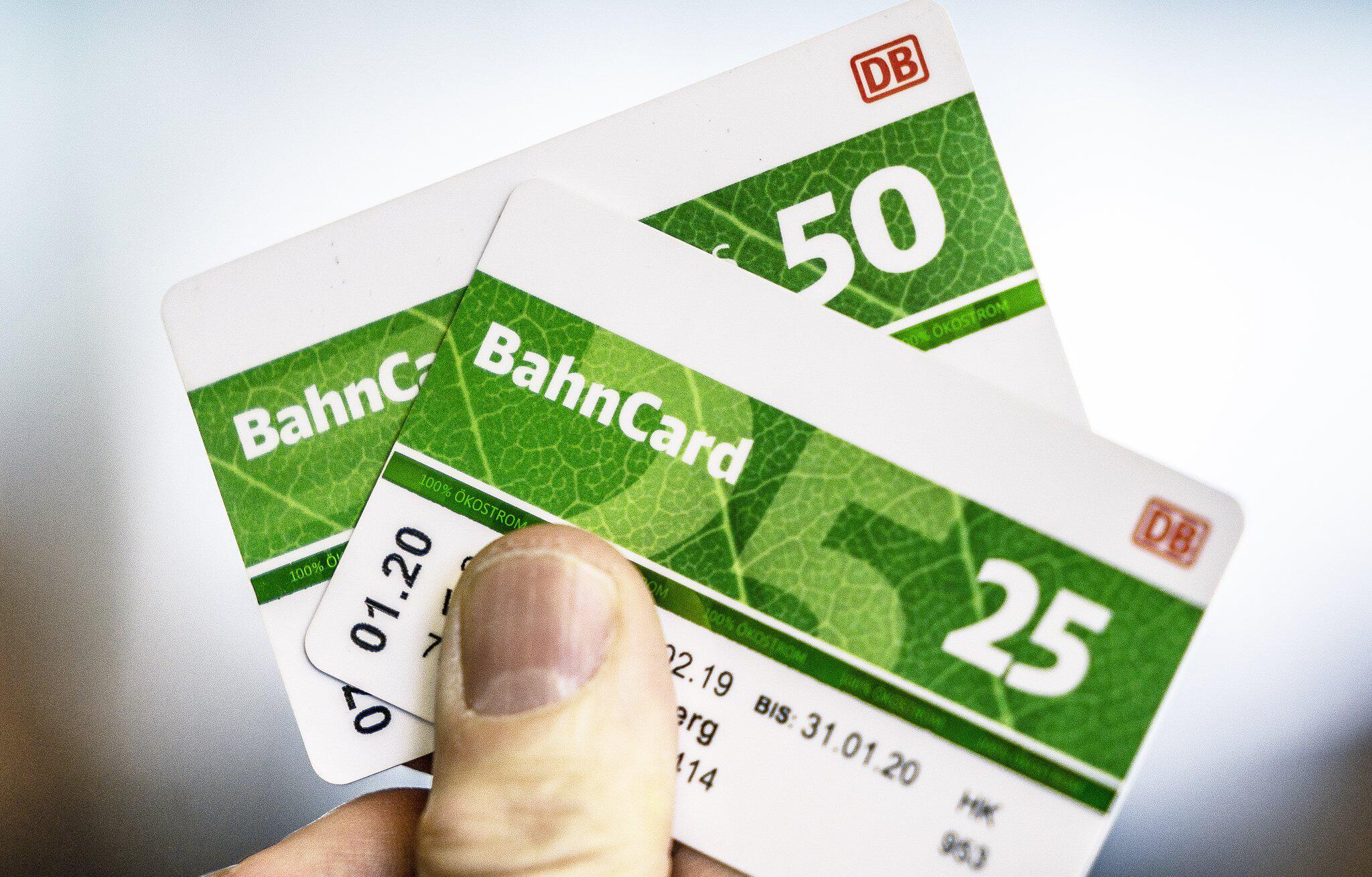Bild zu Bahncards 50 und 25 werden günstiger