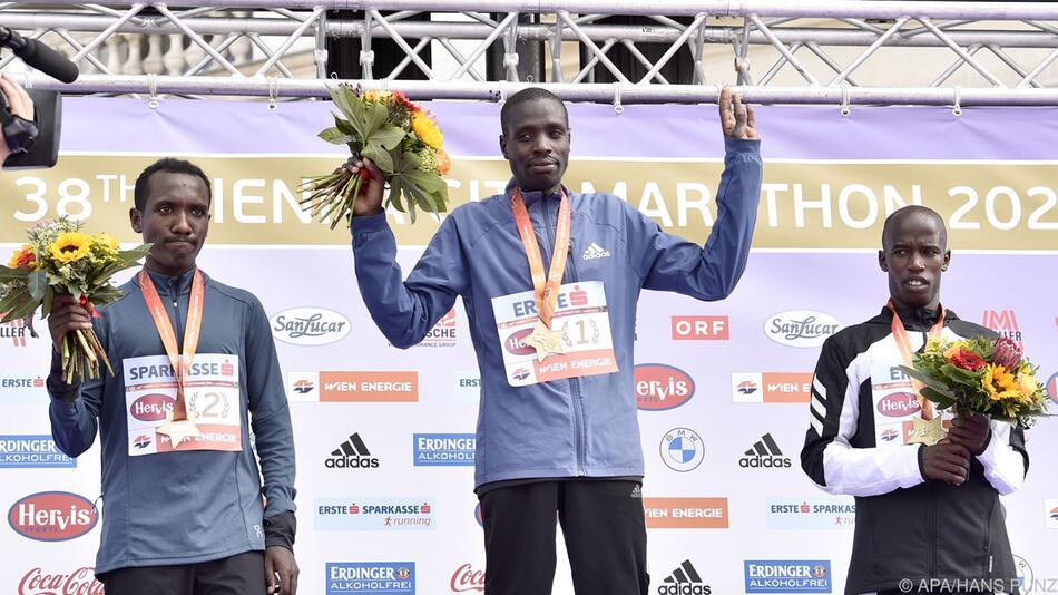 Leonard Langat holte sich den diesjährigen Wien-Marathon-Sieg.