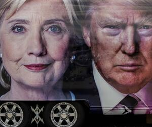 Hillary Clinton, Donald trump, US-Wahl 2016