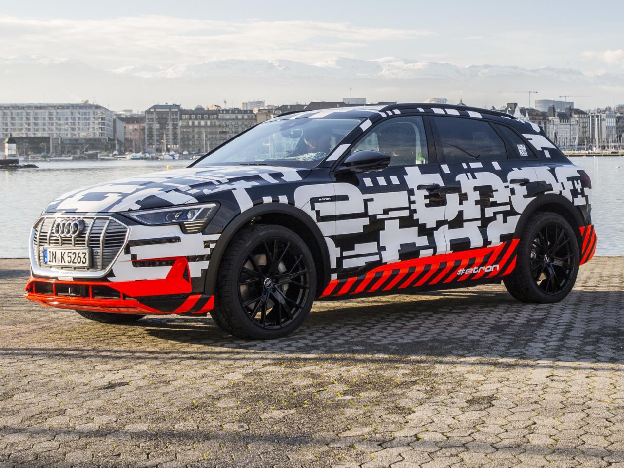 Bild zu Audi E-Tron Prototyp